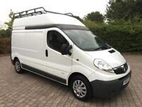 2013 Vauxhall Vivaro 2.0 CDTi 2900 LWB HIGH ROOF VAN, FULL SERVICE HISTORY, +VAT (Renault Trafic)