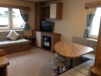 Haggerston Castle Caravan for hire, 3 bed DELUXE GRADED on Lakeside East