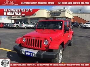 2012 Jeep Wrangler Unlimited SAHARA | CRUISE CONTROL | CLIMATE C Cambridge Kitchener Area image 1