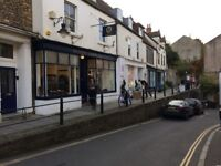 3 room office suite, newly refurbished, in the Frome conservation area, with cat 6 wifi.
