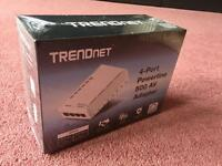 TRENDnet 4-Port Powerline 500 AV Adapter Homplug - Brand New Sealed