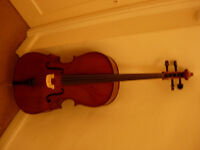 3/4 size Stentor II cello - plays superbly -bargain price (RRP £700+ new)-save money on renting