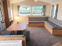 WILLERBY MISTRAL - BRAND NEW CARAVAN HOLIDAY HOME - CHEAP SITE FEES INGOLDMELLS SKEGNESS NEAR BEACH