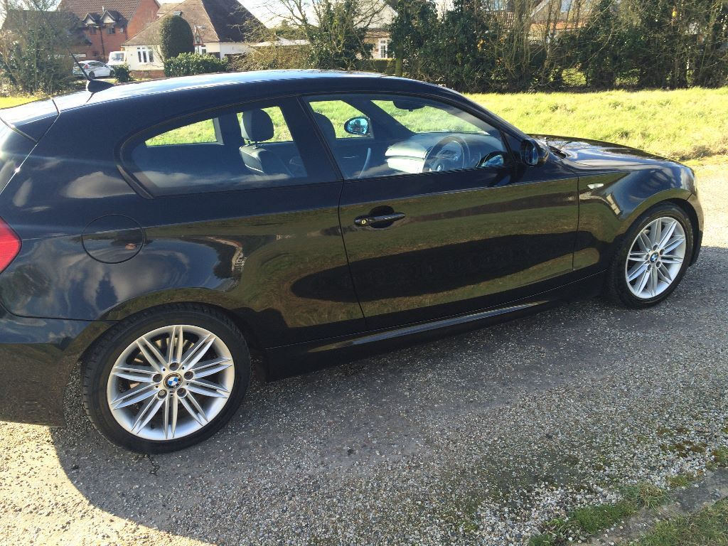 bmw 1 series 2 0 118d m sport 3dr in braintree essex gumtree. Black Bedroom Furniture Sets. Home Design Ideas