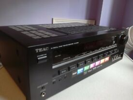 Teac AV digital home theater receiver AG D200 530 watts in very good condition good working order