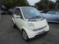 SMART CITY PASSION 61 698cc AUTOMATIC COUPE 2007-56, £30 A YEAR TAX, ONLY 60K FROM NEW