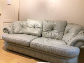 Pale green sofa good condition FREE