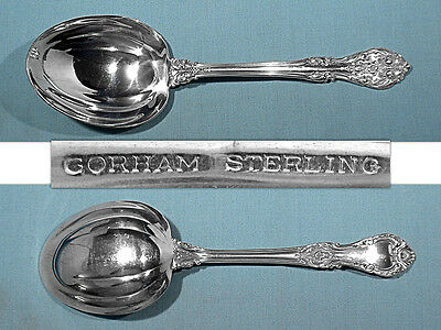 GORHAM STERLING SALAD SERVING SPOON ~ KING EDWARD ~ NO MONO