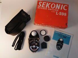 Sekonic Studio Deluxe L-398 Light Meter