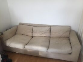 Free three person sofa bed in Hove. Free for collection