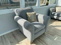 DFS 3 seater sofa and arm chair