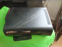 Microsoft Xbox 360 Console in working order with the original power supply and HDMI cable