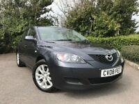 2008 (08) Mazda Mazda3 1.6 TS2 44,000 MILES FULL MAZDA SERVICE HISTORY IMMACULATE 2 OWNERS