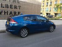 2013 honda insight1.3ima hs-t hybrid petrol/electric cvt auto, 1 owner, 9 stamp, 10 mot, hpi clear