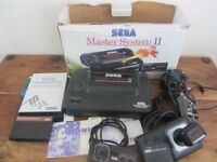 Sega Master System 2 with Games in Box