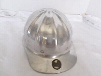 Vintage Superlite Fibre-metal Aluminum Hard Hat Gradall Warner Swasey Co.