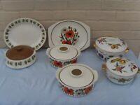 Vintage Tableware. Meakin, Royal Worcester, Portmeirion