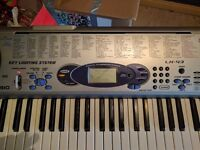 Casio Electric Keyboard & Stand