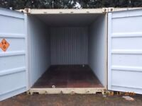 20ft secure storage containers to hire onsite - Pre Christmas offer