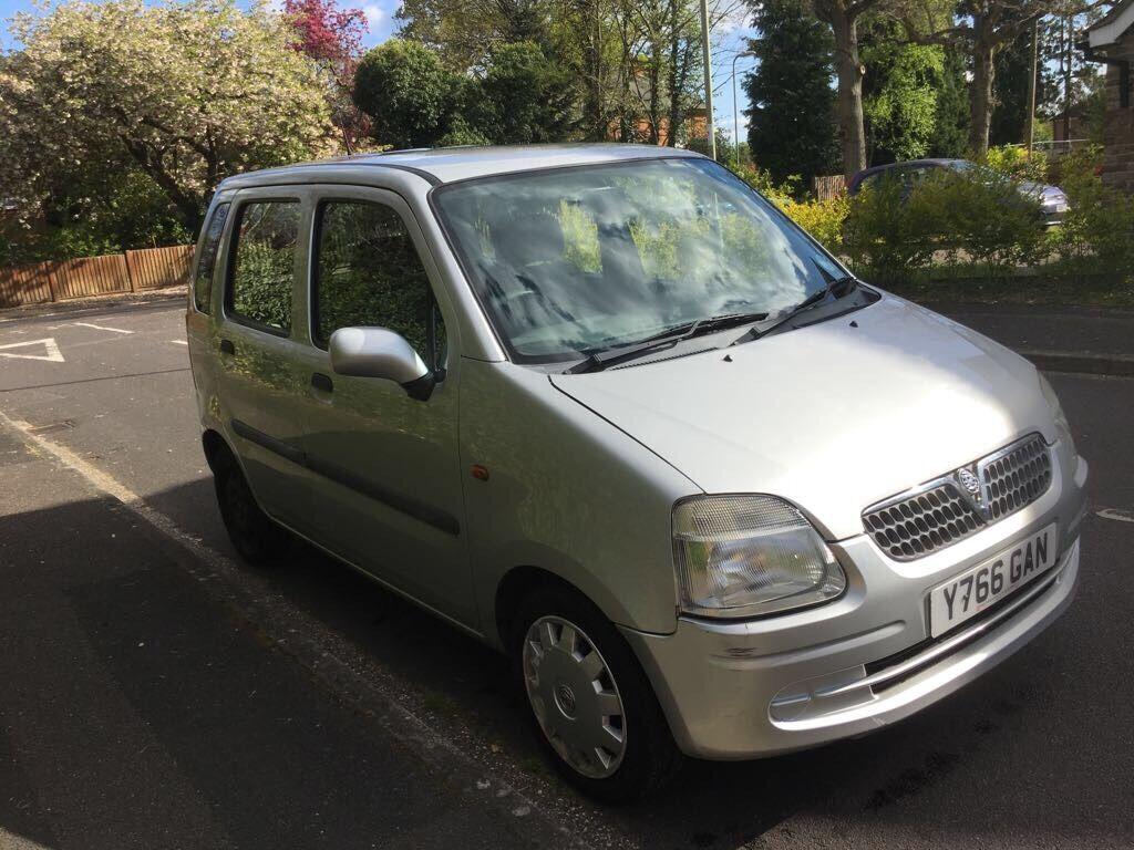 VAUXHALL Agila 1.2 petrol LONG MOT PERFECT FAMILY CAR