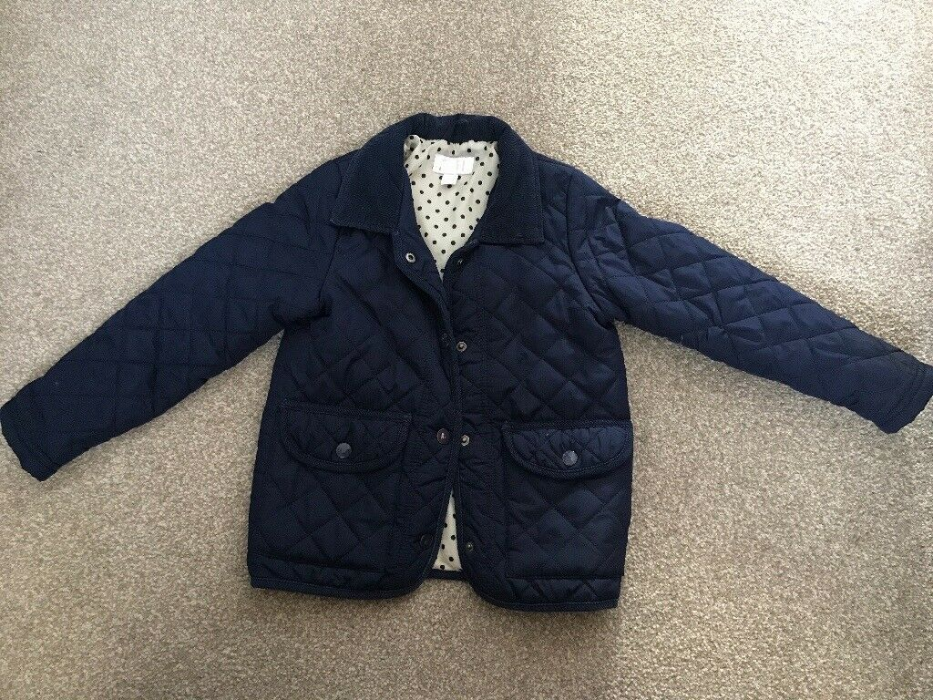 Next girl's quilted jacket 3-4 years