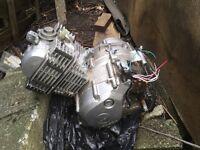 Yamaha 125 4stroke engine