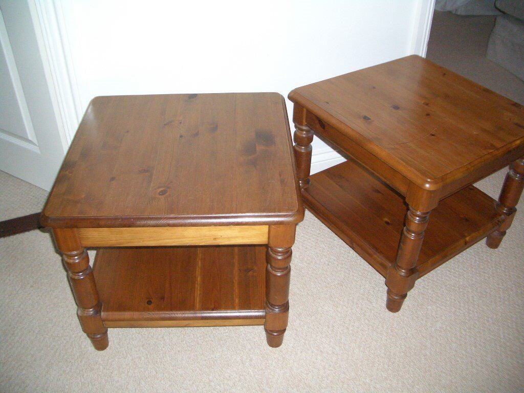 Ducal Coffee Tables In Antique Pine