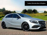 Mercedes-Benz A Class A200 BLUEEFFICIENCY AMG SPORT (silver) 2016-08-04