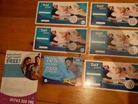 Leisure centre free 7 day passes and voucher