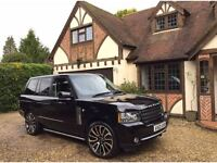 Range Rover Vogue 3.6TDV8 Facelift Black On Black Hpi Clear