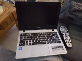 Acer aspire silver compact laptop
