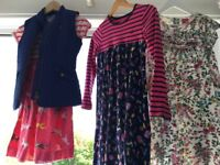 Perfect condition Joules dresses for 9-10 and 11-12 years