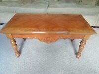 Country Oak Coffee Table - Solid Oak Wood
