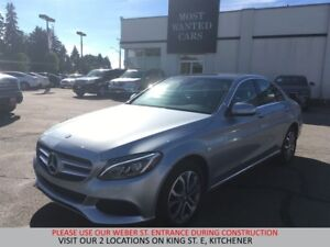 2015 Mercedes-Benz C300 4MATIC NAVIGATION | BLIND | DUAL ROOF