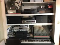 Complete home recording studio setup