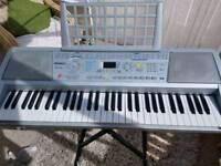 Electronic keyboard organ