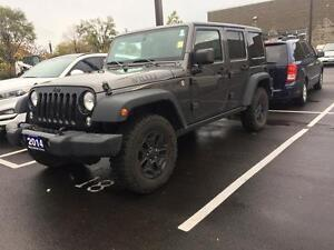 2014 Jeep Wrangler WILLY's EDITION Unlimited Sport 4WD