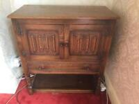 Wooden sideboard/cabinet *ideal upcycle/shaby chic project*