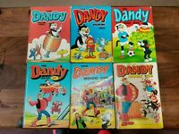 Dandy, Dennis the Menace, Beezer, Topper etc annuals