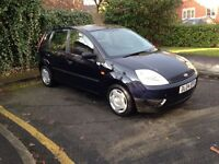 Ford fiest 1.2, excellent condition, full service history, long mot