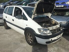 VAUXHALL ZAFIRA CLUB DTI 2003- FOR PARTS ONLY