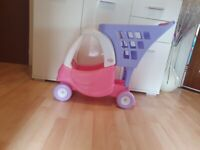 Little Tikes Cozy Coupe Shopping Trolley Pink