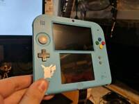 Nintendo 2ds Pokemon Sun and Moon limited edition (NO GAMES)