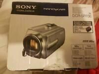 Sony DCR-SR15E handycam camcorder 80GB silver boxed
