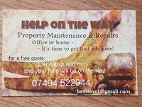 Handyman services and property maintenance