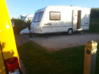 2- berth touring caravan with motor mover fitted
