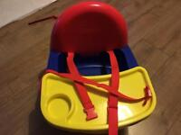 Children's set high chair