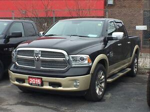 2015 Ram 1500 LONGHORN**SUNROOF**LEATHER**NAVIGATION**