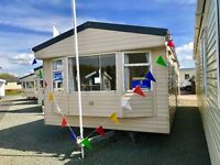 STATIC CARAVAN FOR SALE PAYMENT OPTIONS AVAILABLE SEA VIEWS NORTH WEST MORECAMBE NEAR LAKES HEYSHAM