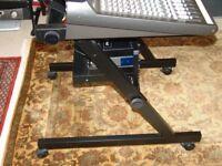 Quiklok - Mixer Z-Stand for Recording Studio with Quiklok 6-Unit Rack Attachment